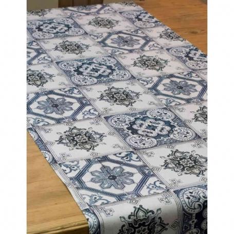 Runner da tavola Maioliche, 150x50 cm - Tablecloth
