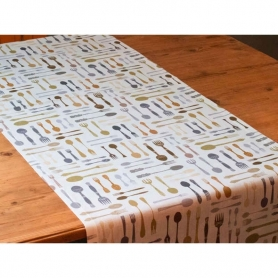 Runner Posate, 150x50 cm - Tablecloth