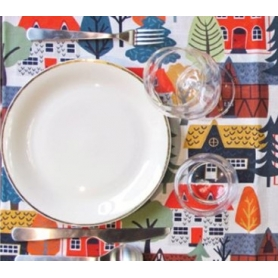 Placemat Village, 2pz - Tablecloth