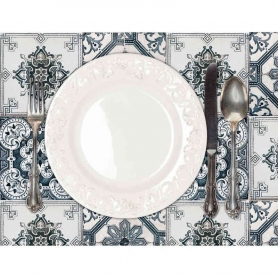 Majolica Placemat, 2pc - Tablecloths