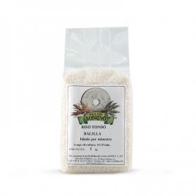 Riz rond biologique Balilla, 1 kg - Moulin Sobrino