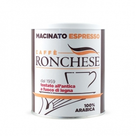 Ground coffee Espresso 100% Arabica, 250 gr. - Ronchese coffee
