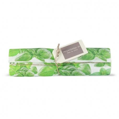 Tovaglia Runner Basilico, 150x50 cm - Tablecloths