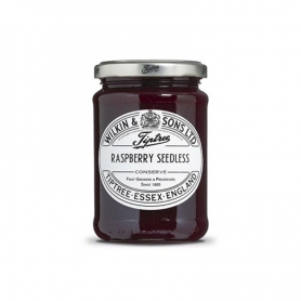 Extra raspberry jam without seeds, 340 gr - Tiptree