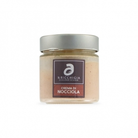 Crema di nocciole spalmabile, 190 gr - Aricchigia