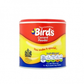 Bird's Custard Powder, 300 gr - Preparato per creme (egg free)