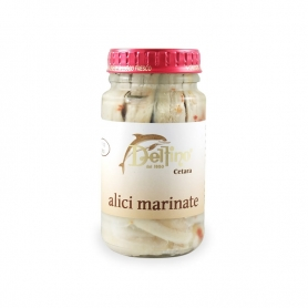 Marinated anchovies, 130 gr - Delfino Battista
