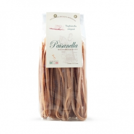 Whole wheat tagliatelle, 500 gr - Pastificio Paisanella