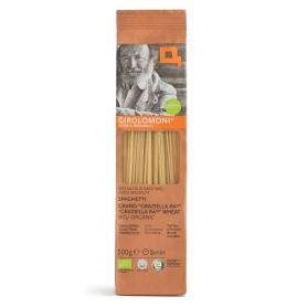 Graziella Ra semi-wholegrain wheat spaghetti BIO, 500 gr - Girolomoni