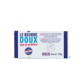 Natural butter of Normandy (sweet), 250 gr. - Le bouquet de Cotentin