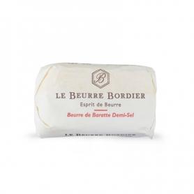 Demi-sel butter de baratte, 125 gr - Le Beurre Bordier