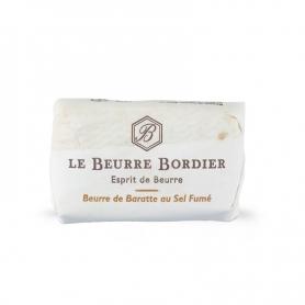Baratte Butter mit geräuchertem Salz, 125 g x 4 Stück - Le Beurre Bordier