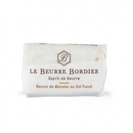 Burro de baratte al sale affumicato, 125 gr - Le Beurre Bordier