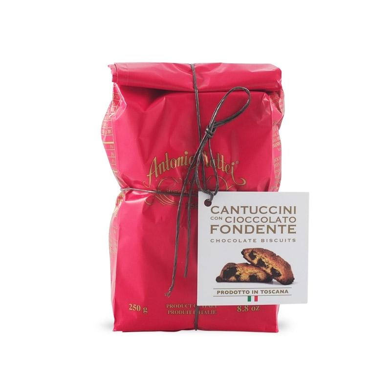 Cantucci di Prato con gocce di cioccolato, 250 gr - Mattei
