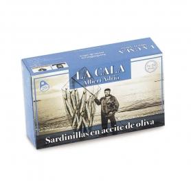 Sardines à l'huile d'olive, 115 gr - Albert Adrià