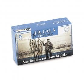Sardines à l'assaisonnement épicé, 115 gr - Albert Adrià