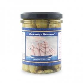 Trombetta Zucchini in Öl, 180 gr - Die Segelschiffe