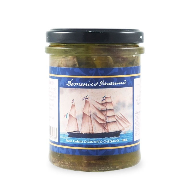 Eggplant in olive oil 180 gr - The Sailing Ships