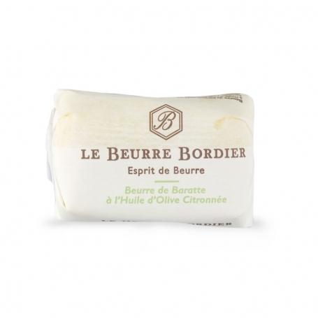Burro all'olio di oliva e limone, 125 gr - Le Beurre Bordier