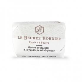 Burro de baratte alla vaniglia del Madagascar, 125 gr - Le Beurre Bordier