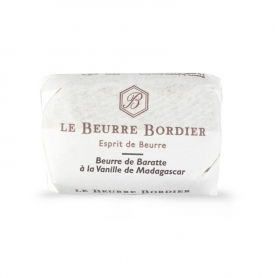 Baratte butter  with vanilla from Madagascar, 125 gr x 4 pieces- Le Beurre Bordier