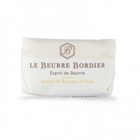Burro de baratte al yuzu, 125 gr - Le Beurre Bordier