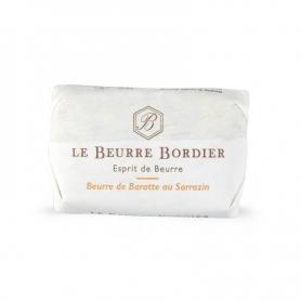 Burro de baratte au sarrasin, 125 gr - Le Beurre Bordier