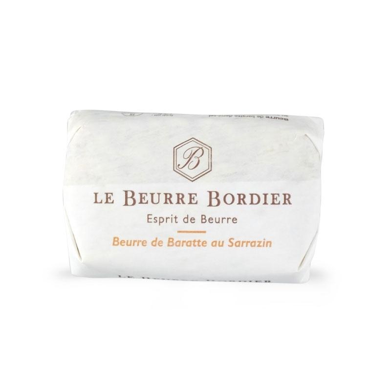 Burro de baratte al grano saraceno, 125 gr - Le Beurre Bordier