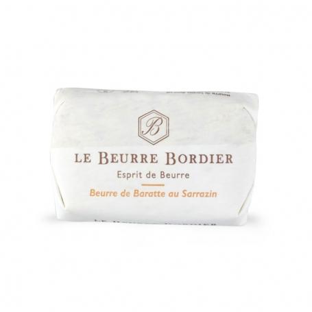 Le Beurre Bordier - Burro de baratte al grano saraceno, 125 gr