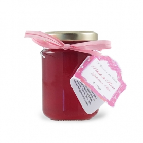 Organic Rose Jelly, 174 gr - The Garden of the Dahlias