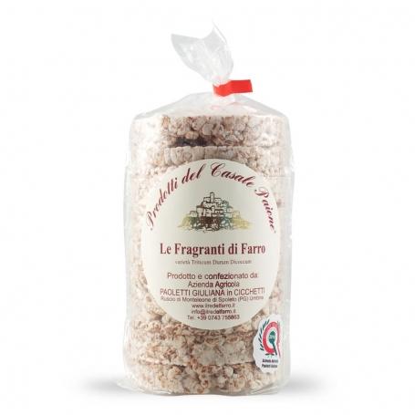 Gallette di Farro, 100 gr - Azienda Agricola Paoletti