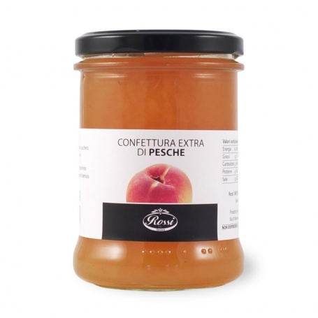 Peaches jam, 330 gr - Rossi
