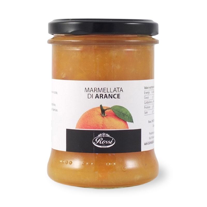 marmelade d'orange avec le zeste haché, 330 gr - Rossi