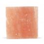 Piastra di sale rosa per cottura e da portata, 15x15 cm