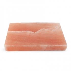 Rosa Salzplatte zum Kochen und Servieren, 20x30 cm