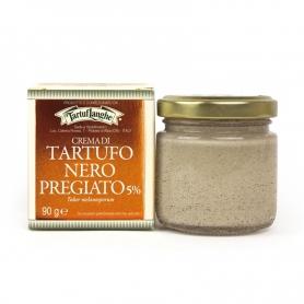 Crème fine à la truffe noire, 90 gr - Tartuflanghe