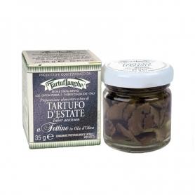 Summer truffle sliced in olive oil, 35 gr - Tartuflanghe