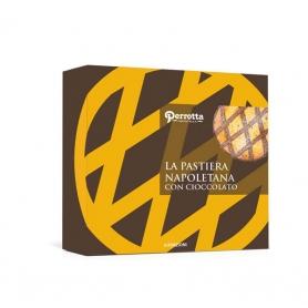 Pastiera napolitaine au chocolat, 400 gr - Perrotta