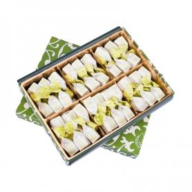 Pistazien-Trüffel im Geschenkkarton, 300 gr