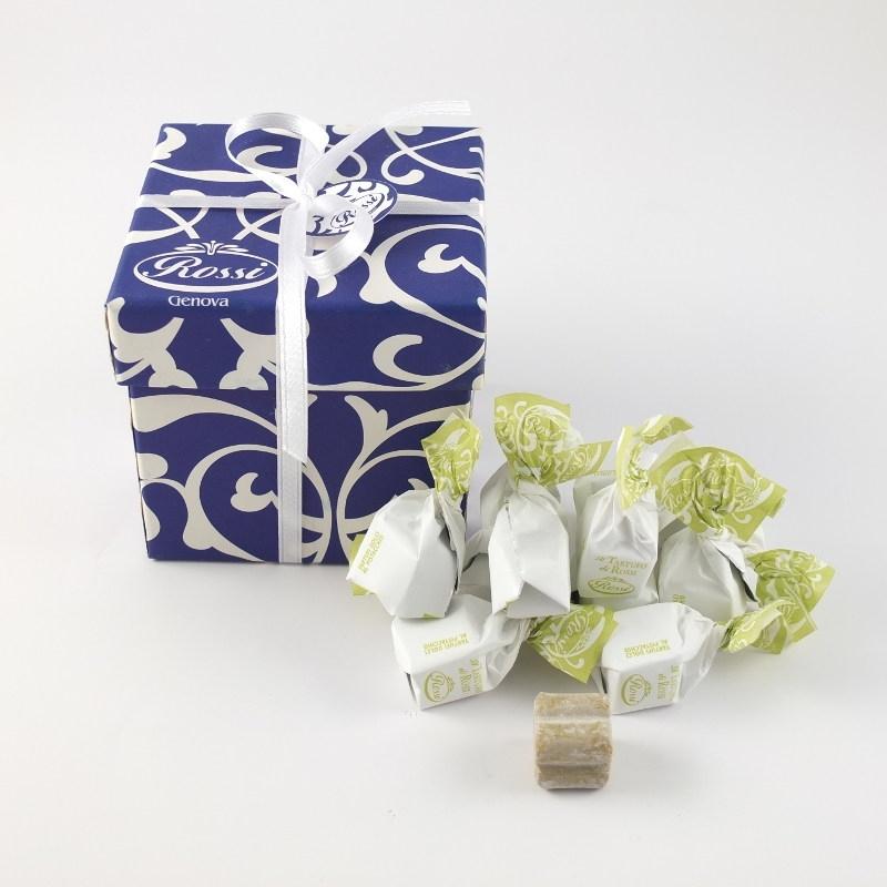 Tartufi al pistacchio in scatola regalo