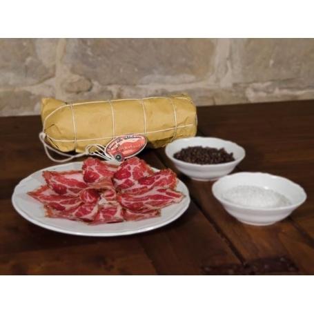 Capocollo toscano, 350 gr ca - Sapori della Valdichiana - Salumi stagionati