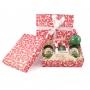 Confezione regalo - Il Pesto del Mugugno Genovese, 130 gr X 2 con Palla di Natale