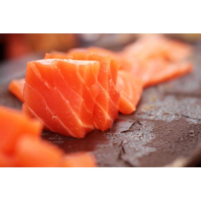Filetto di salmone affumicato classico, 1kg - Carpier