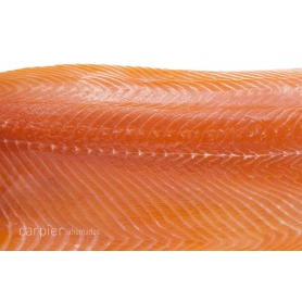 Herz des klassischen geräucherte Lachsfilets, 400 gr - Carpier - I salmoni Carpier