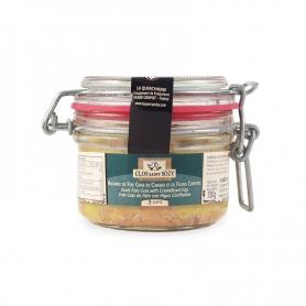 Foie Gras d'oie entier mi cuit nature, 90 gr -35%