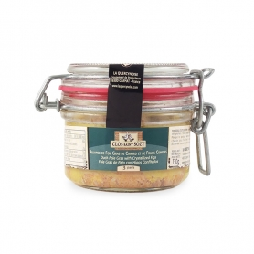 Alliance de Foie Gras de Canard et Figues Confites, 130 gr
