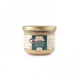 Rillettes Pur Canard du Sud-Ouest au Foie de Canard (20% de Foie Gras), 180 gr