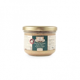 """Rillettes"" pure Duck from ""Sud-Ouest"" of France with Duck Foie Gras (20% foie gras), 180 gr"