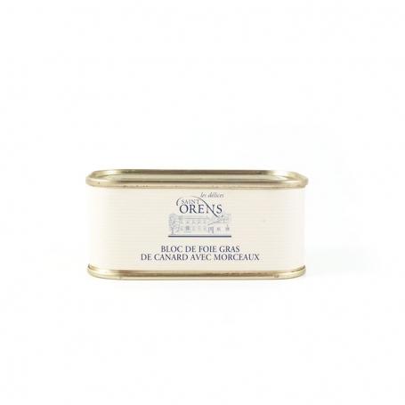 Foie Gras duck cap, 100 gr - La Truffe Cendrée