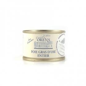 Gans Foie gras entier, 65 gr - Les Delices Saint Orens